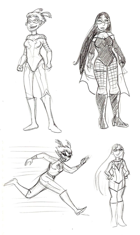 Not-So-Tiny Superheroes