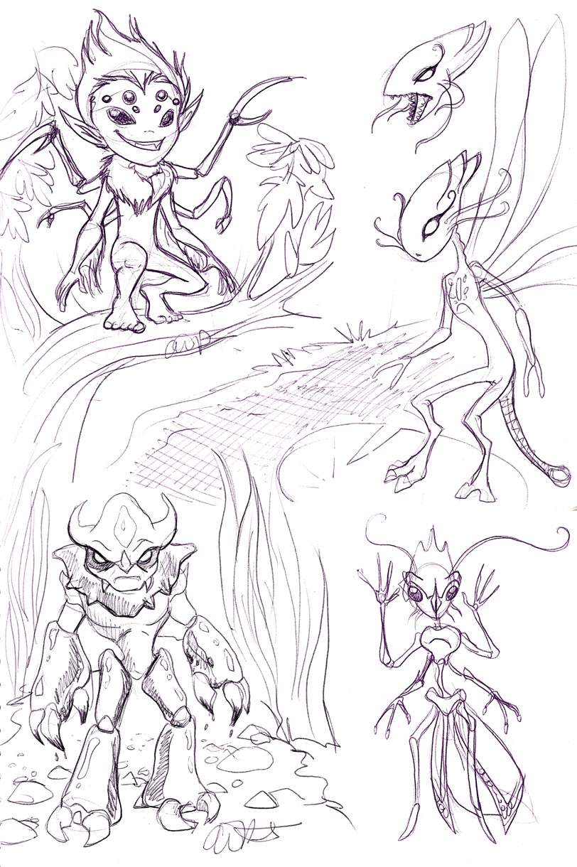 Insectoid fairies