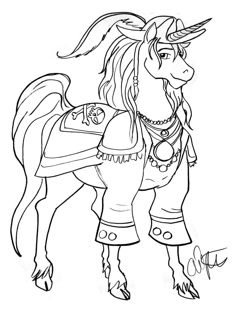 Unicorns = Pirates