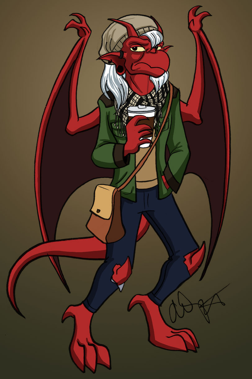 Hipster Gargoyles!