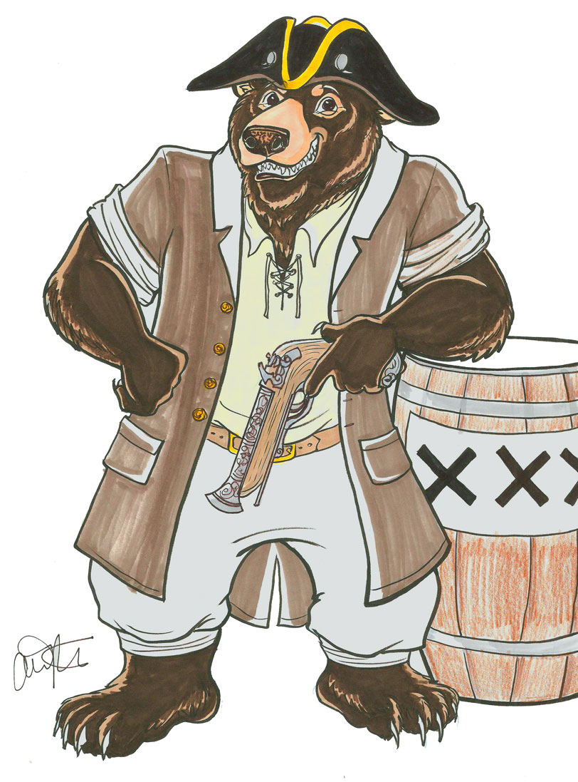 Bear Pirate!!