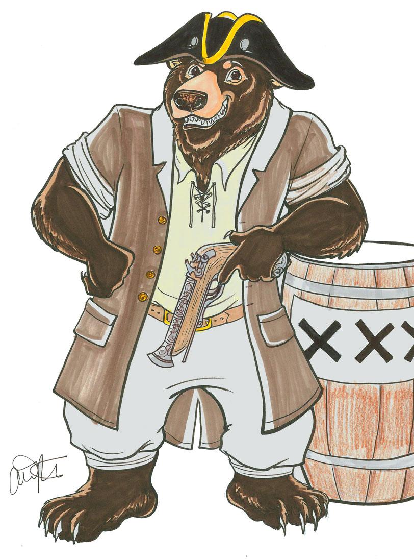 Bear Pirate!!