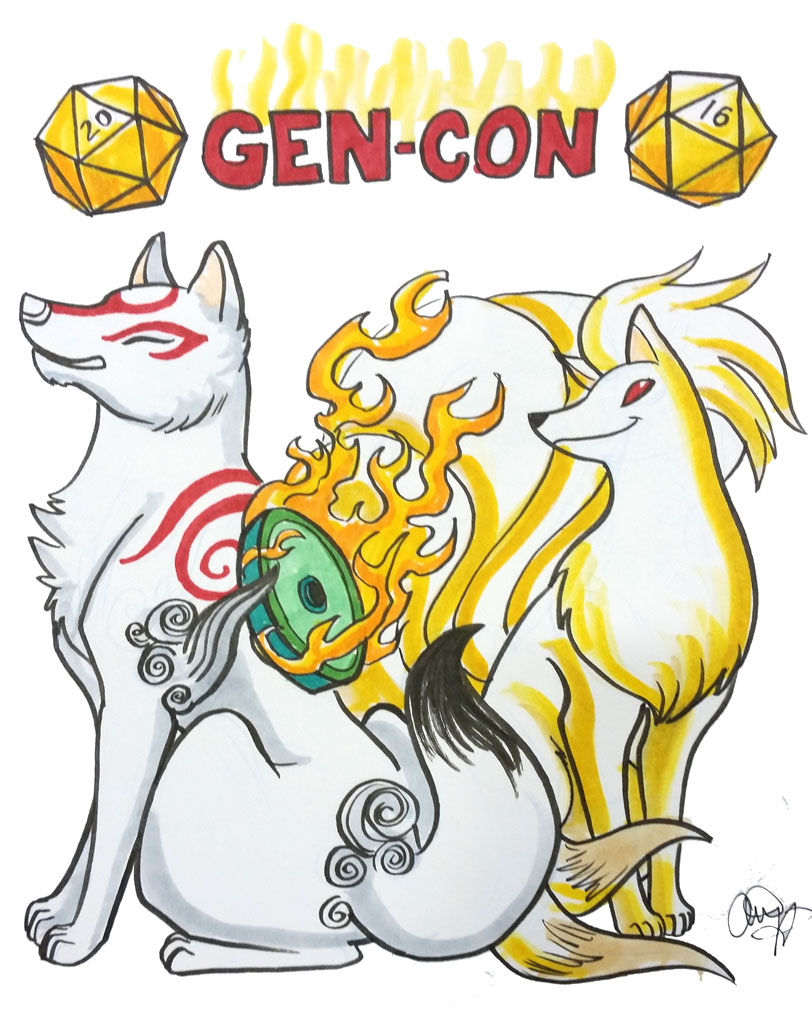 Gen Con Doggies