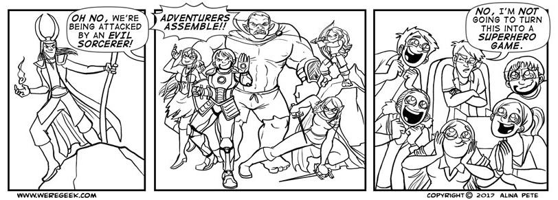 Adventurers Assemble!!